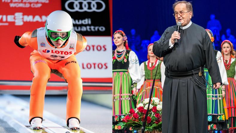 Klemens Murańka i Tadeusz Rydzyk