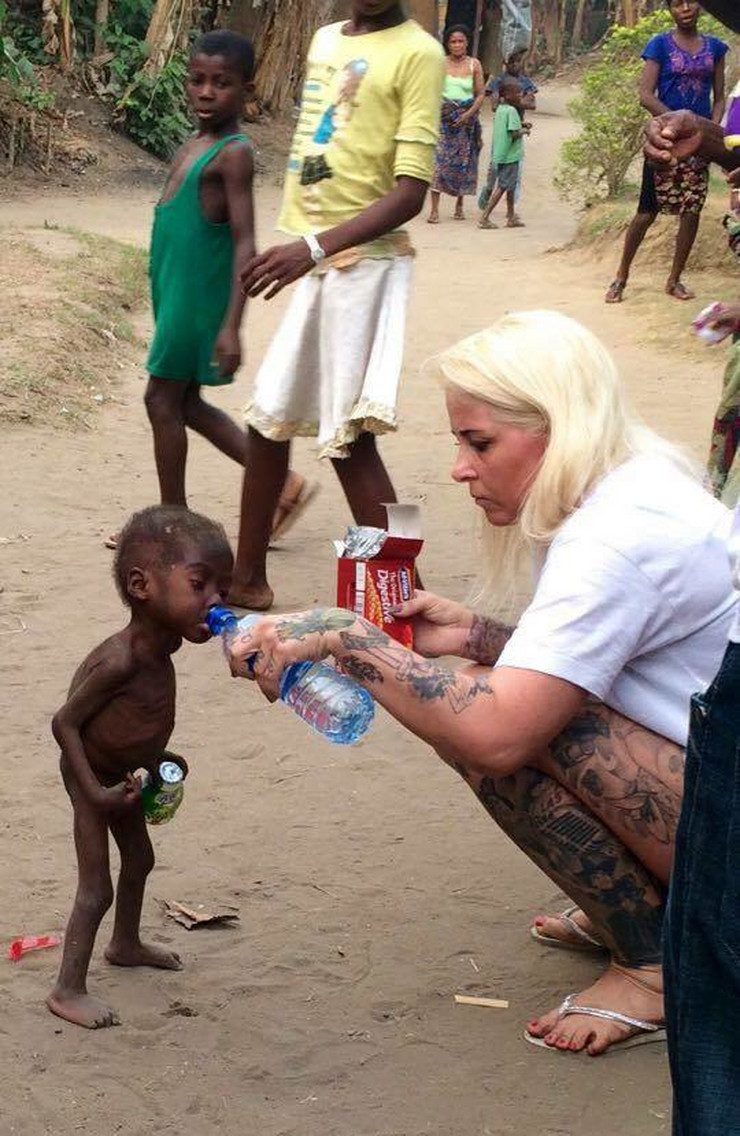 dečak nigerija01 foto Facebook Anja Ringgren Lovén