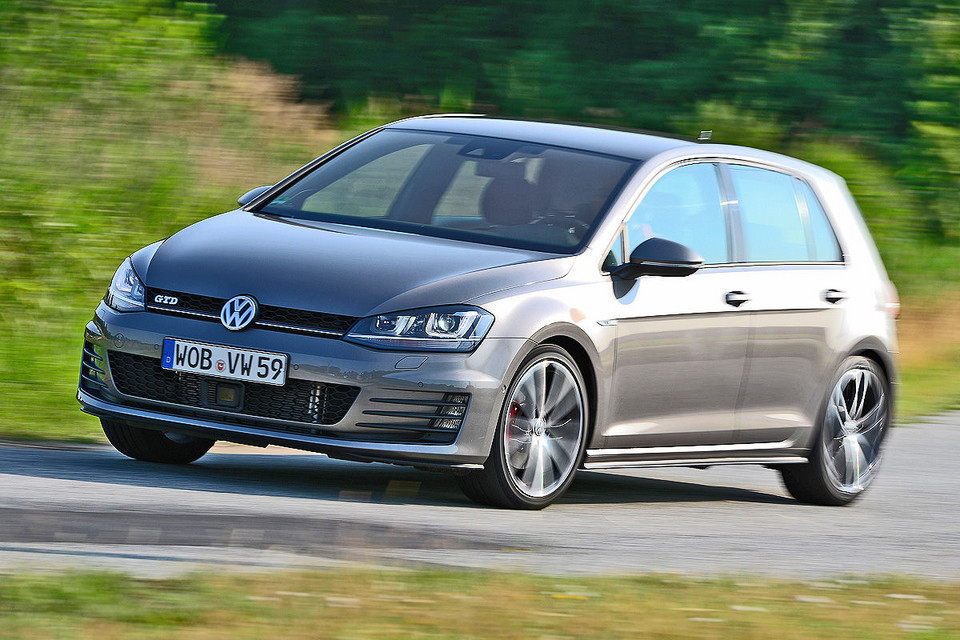 VW Golf GTD BlueMotion Technology (184 KM)