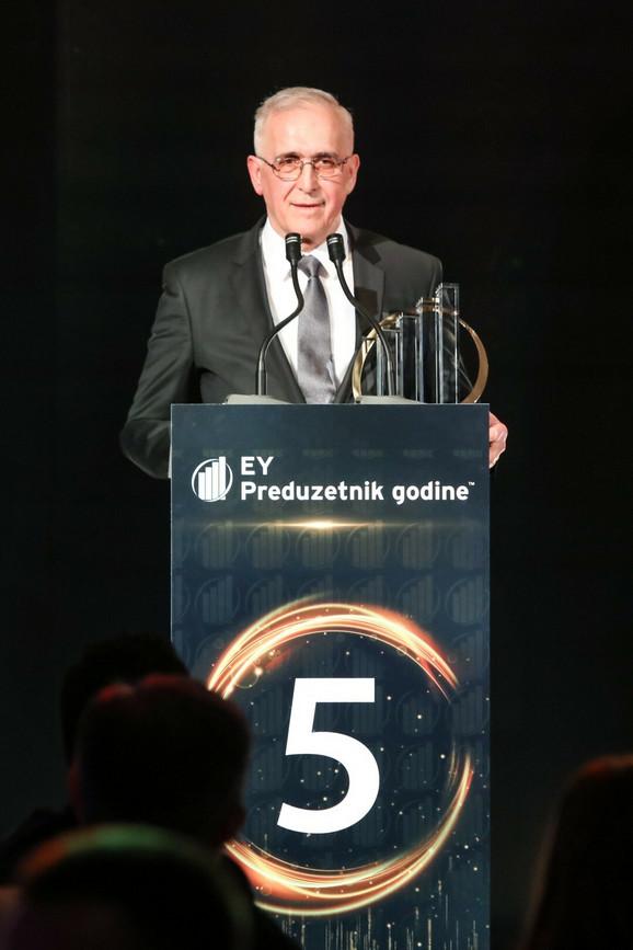 Radojko Janic- EY Preduzetnik godine 2016