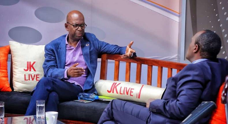 Bob Collymore's wish fulfilled last night after Jeff Koinange hosted these 3 women