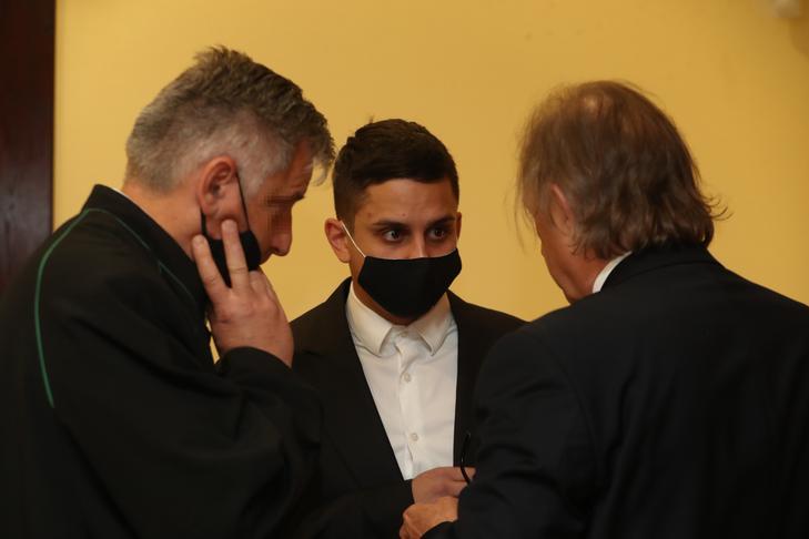 Aurelio a bíróságon /Fotó: Pozsonyi Zita