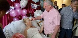 To był niesamowity ślub. Odbył się w szpitalu