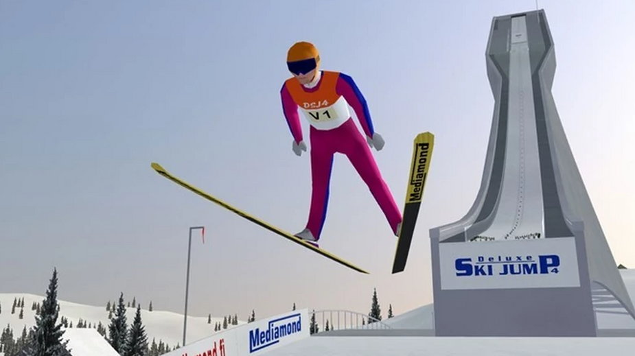 Deluxe Ski Jumping