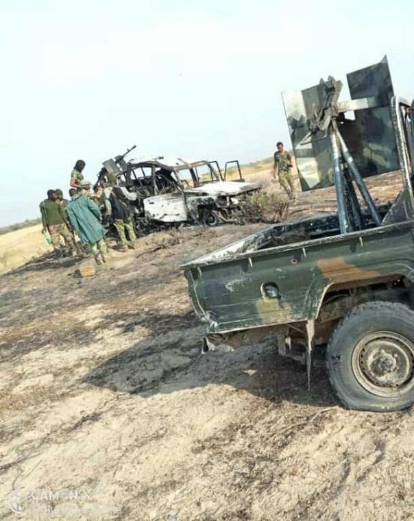 Troops neutralise  Boko Haram terrorists[Twitter/@HQNigerianArmy]