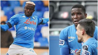 Nigerian Players Abroad: Paul Onuachu won't stop scoring, Victor Osimhen, Simy Nwankwo on target, Victor Moses scores