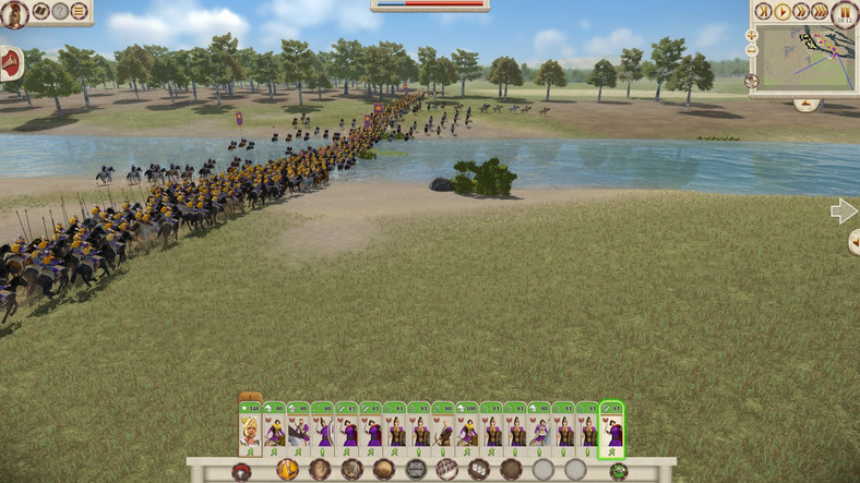 Total War Rome Remastered - screenshot z gry (wersja na PC)