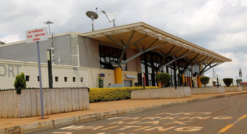 A file photo of Eldoret International airport