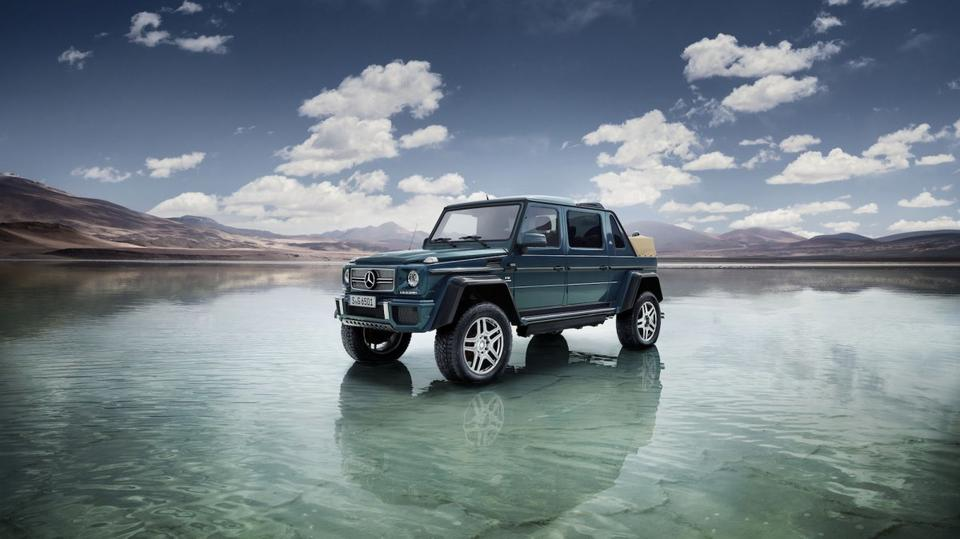 Najnowszy Maybach to model G650 Landaulet.