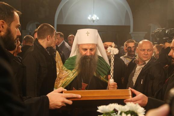 SVE SPREMNO ZA DOČEK Patrijarh Porfirije sutra služi Svetu arhijerejsku liturgija u manastiru Miloševac