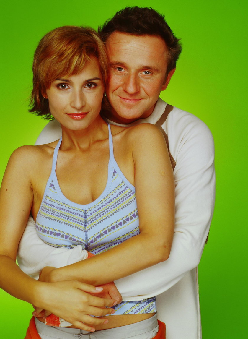 Joanna Brodzik (45 l.) i Paweł Wilczak (53 l.)