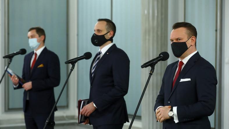 Janusz Kowalski, Sebastian Kaleta, Dominik Tarczyński
