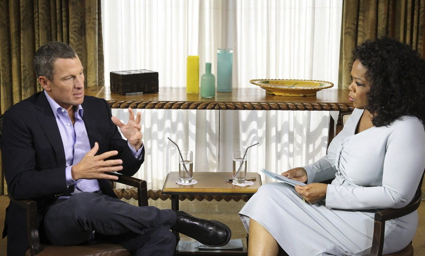 Lance Armstrong u Oprah Winfrey