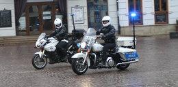 To jedyny policyjny harley w Europie. Mają go w Rzeszowie!