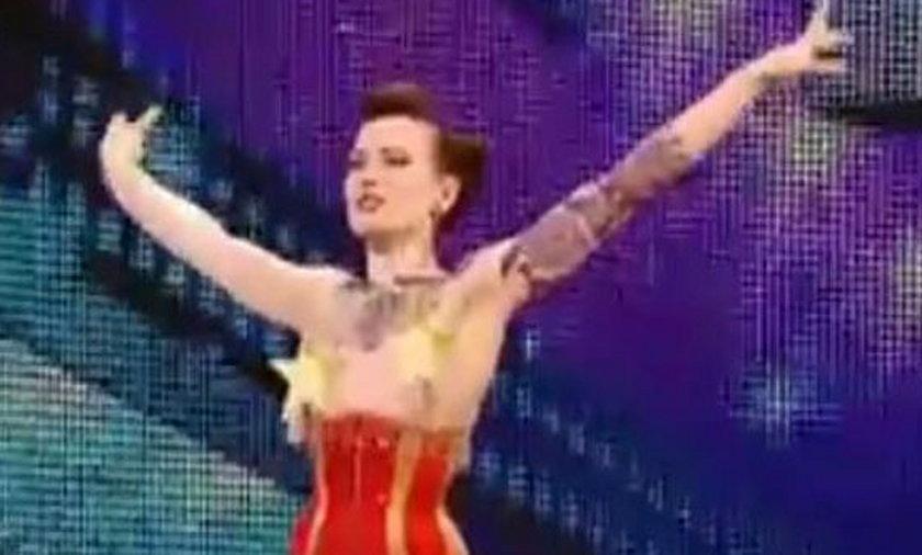Beatrix Von Bourbon rozebrała się w Mam Talent