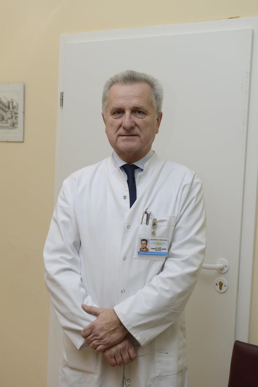 dr Tomasz Bielanów, ordynator, ginekolog-położnik