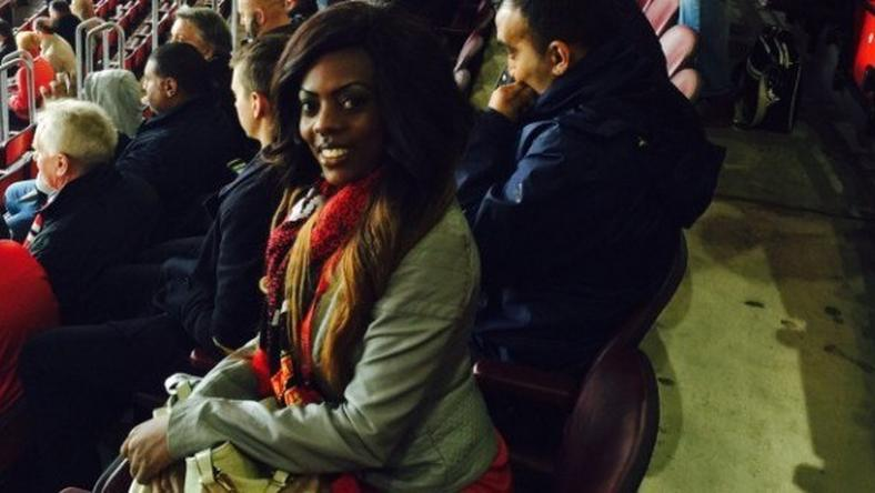 Nana Aba goes to Old Trafford