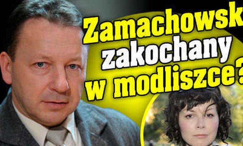 Zamachowski zakochany w modliszce?