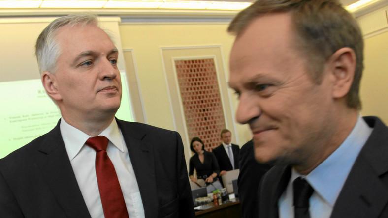 Wyniki wyborów w PO: Tusk 79,58 proc., Gowin 20,42 proc.