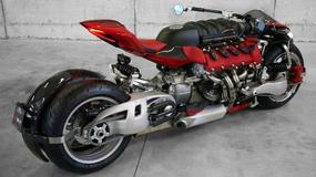 Motocykl z silnikiem V8 Maserati w akcji [wideo]