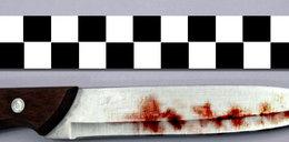 Kobieta dźgnięta nożem. Policjant uratował jej życie