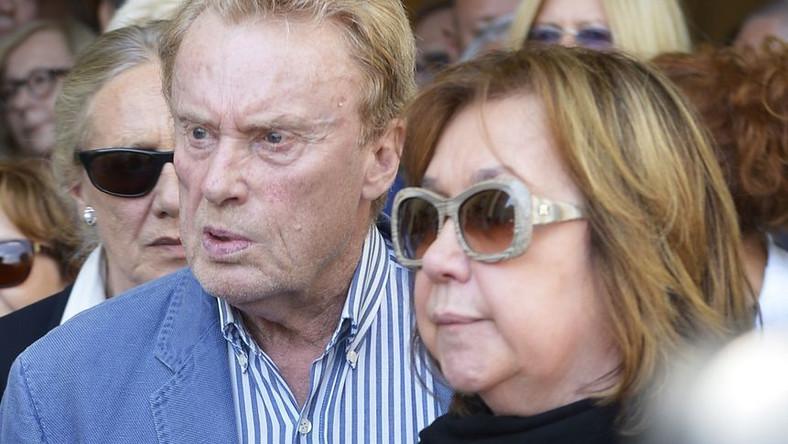 Daniel Olbrychski i Krystyna Demska-Olbrychska