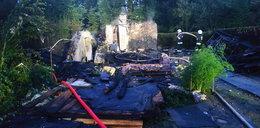 Wybuch butli z gazem doszczętnie zniszczył domek