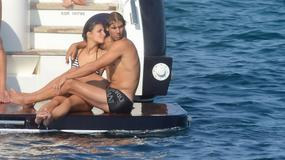 Rafael Nadal na jachcie z ukochaną