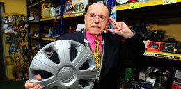 Pan Henryk prawie 60 lat sprzedaje części. To najstarszy kierownik sklepu