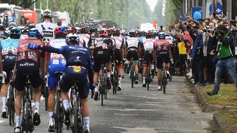 Start do 2. etapu Giro d'Italia