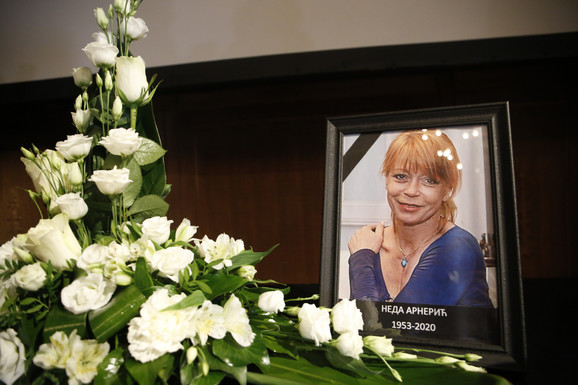 Neda Arnerić - komemoracija