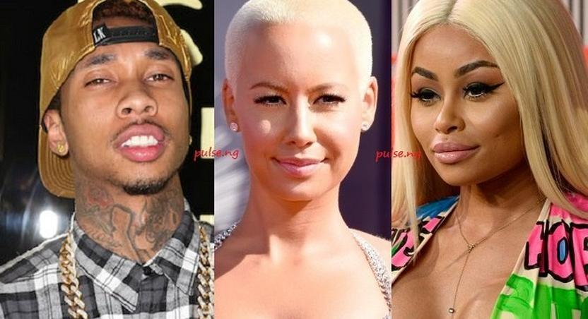 Tyga slams Ambr Rose and Blac Chyna on Twitter over Kylie Jenner