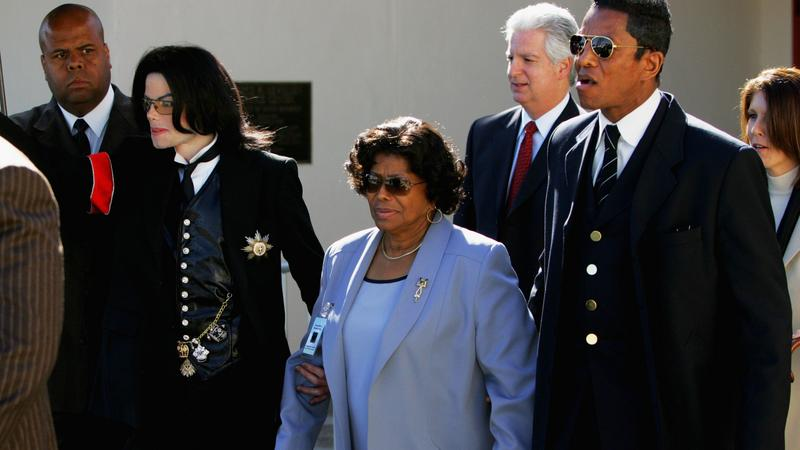 Michael Jackson  z matką (fot. Getty Images)