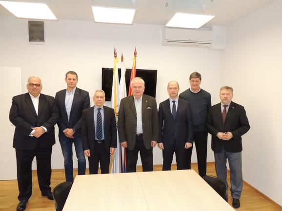 Predstavnici Olimpijskog komiteta Srbije