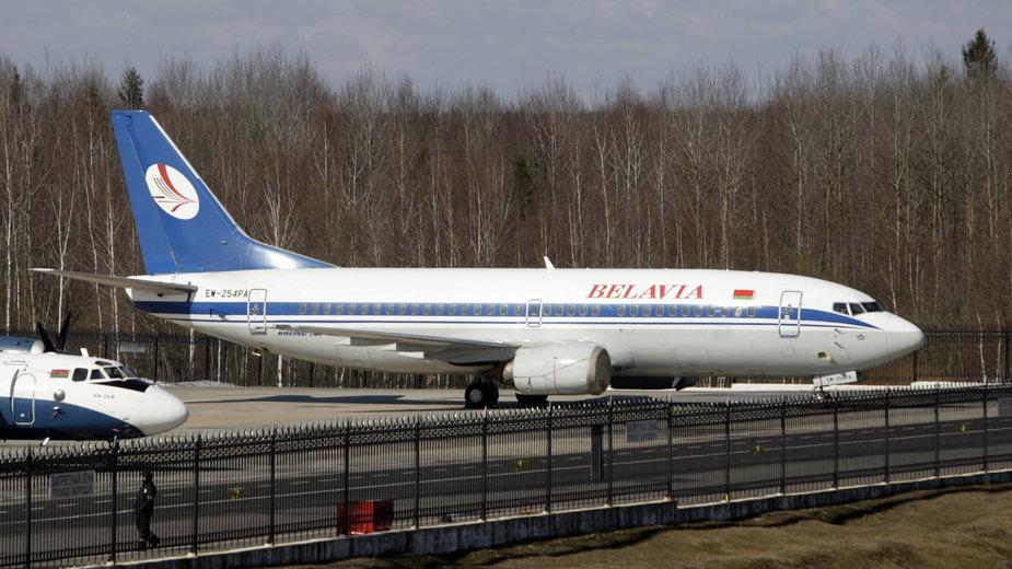 Samoloty z Białorusi od soboty polecą tylko do Rosji