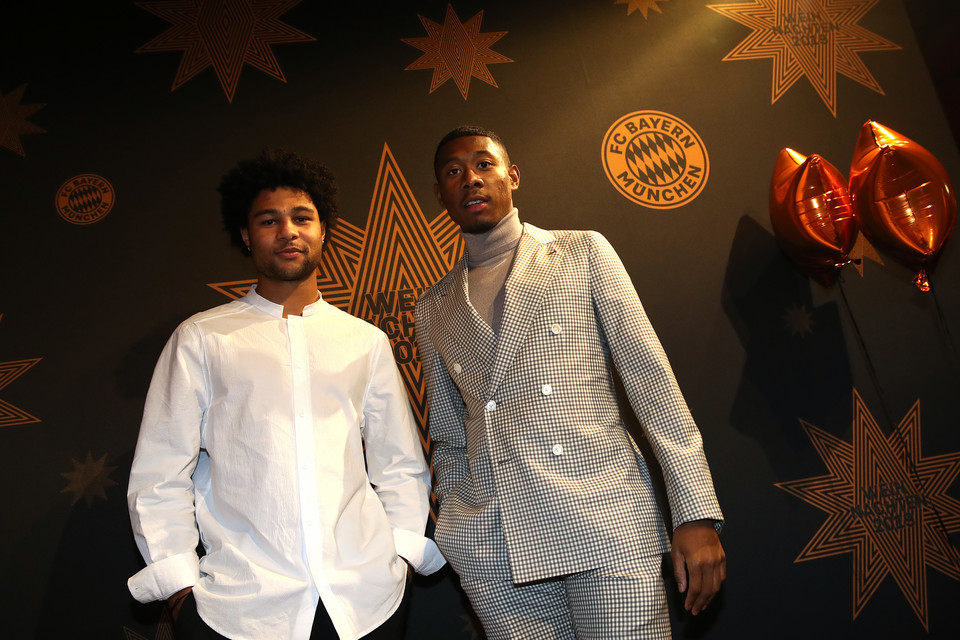 Serge Gnabry i David Alaba