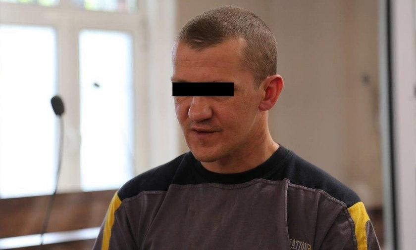 35-letni Sebastian K. stanął przed sądem