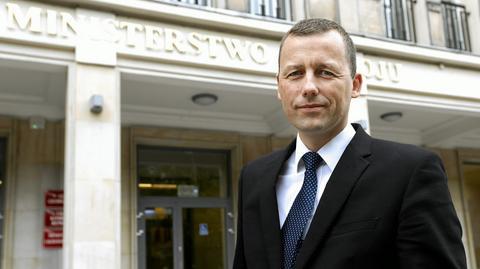 Mikołaj Wild formalnie jest od teraz sekretarzem stanu w Ministerstwie Infrastruktury