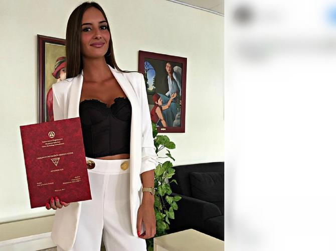 Studentkinja privatnog fakulteta u Beogradu ovako došla na diplomski - a tek da vidite temu!