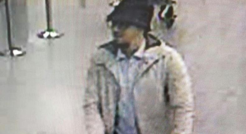 Mohamed Abrini was dubbed the man in the hat after this CCTV image showed him moments before the Brussels airport bombing in March 2016