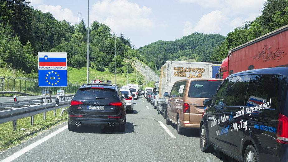 Granica Słowenii