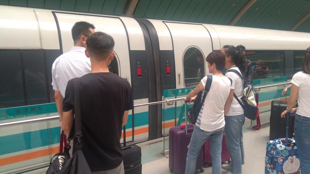 Szanghaj Transrapid nie przyciąga wielu pasażerów