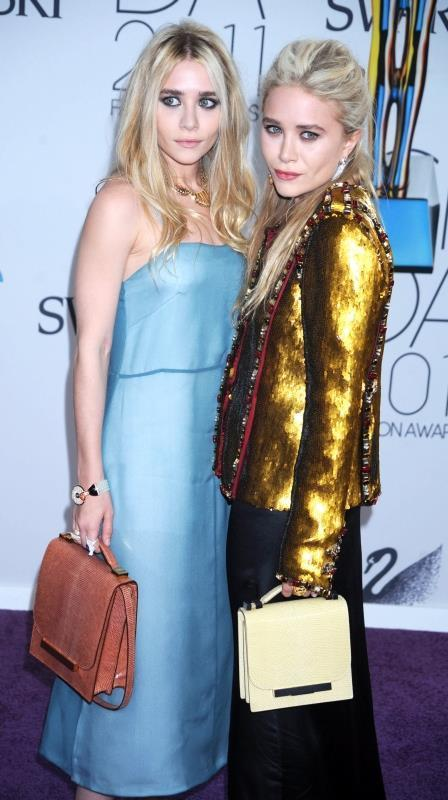 Ashley Olsen and Mary-Kate Olsen at the 2011 CFDA Fashi1