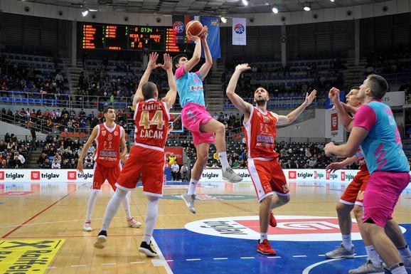 Košarkaši Mega Bemksa uspeli su da preokrenu rezultat protiv Borca