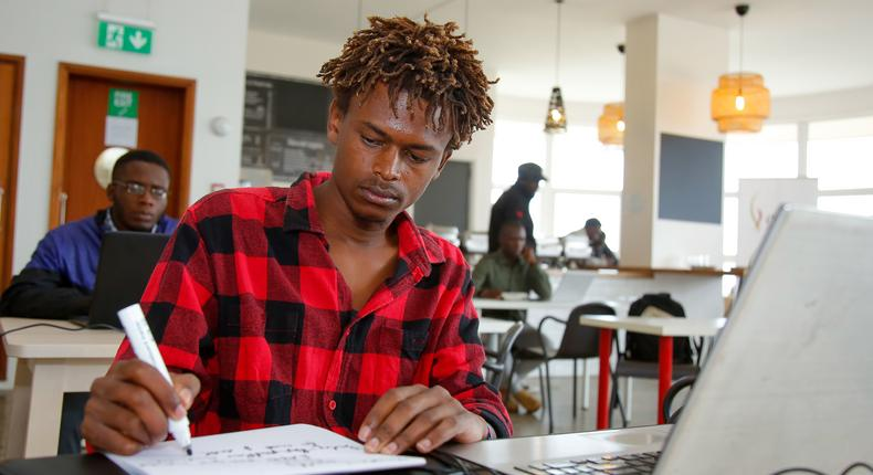 22- year old student Elvis Otieno Atieno wins Sh1 Million in EABL competition