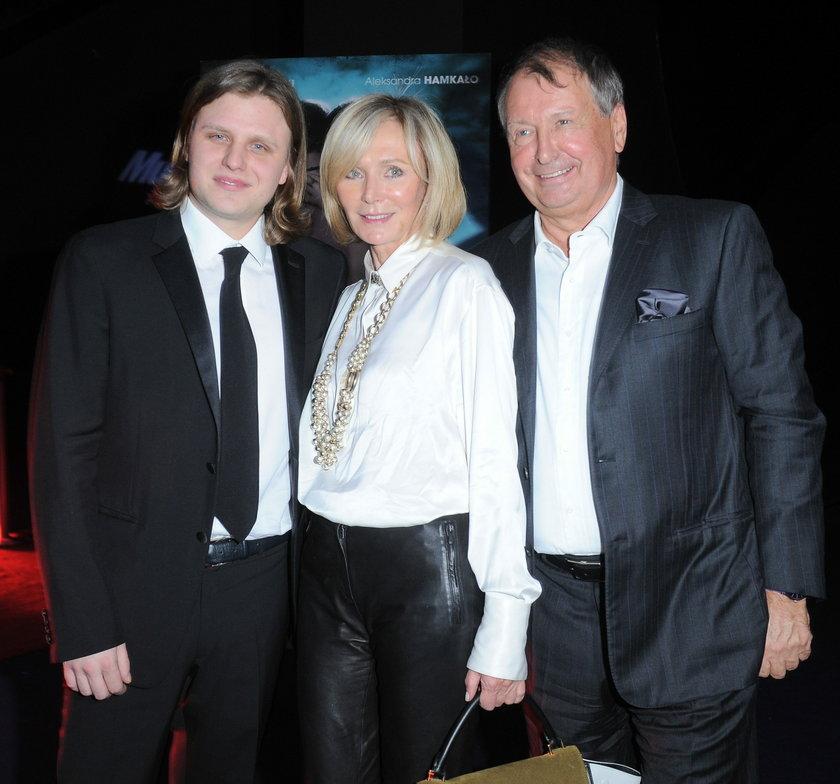 Anna Starak i Jerzy Starak z synem
