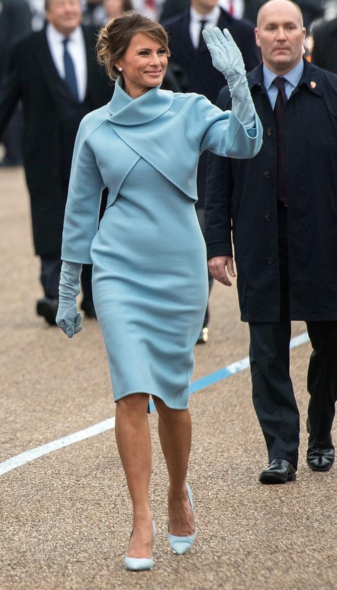 Melanija Tramp na inauguraciji svog supruga u januaru ove godine u Vašingtonu