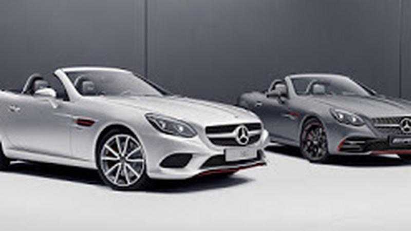 Merces-Benz SLC RedArt