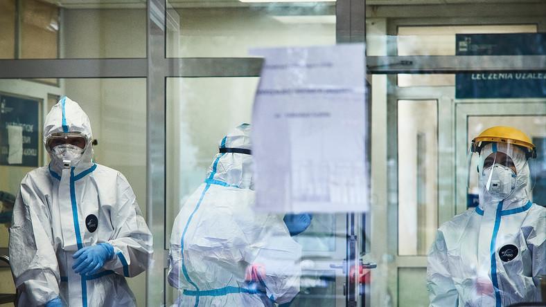 Szpital Wojewodzki w Zgierzu , oddział zakaźny dla chorych na covid-19