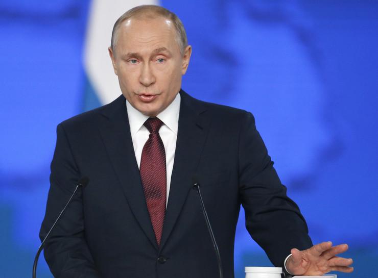 Vladimir Putin, obraćanje naciji